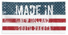 Made In New Holland, South Dakota Hand Towel