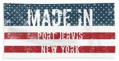 Made In Port Jervis, New York Bath Towel
