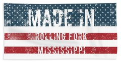 Made In Rolling Fork, Mississippi Hand Towel