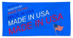 Made In Usa Hand Towel