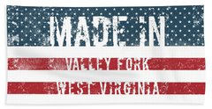 Made In Valley Fork, West Virginia Hand Towel