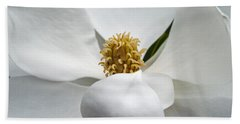 Magnolia Flower Bath Towel
