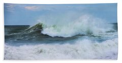 Hand Towel featuring the photograph Making Waves by Robin-Lee Vieira