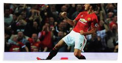 Manchester United's Zlatan Ibrahimovic Celebrates Hand Towel by Don Kuing