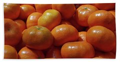 Hand Towel featuring the photograph Mandarin Oranges by David Pantuso