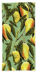 Mango Season Hand Towel by Uma Gokhale