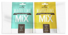 Marketing Mix 4 And 7 P's Hand Towel