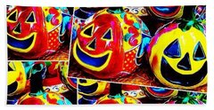 May Your #halloween Be Extra #colorful Bath Towel
