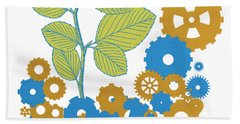 Mechanical Nature Bath Towel
