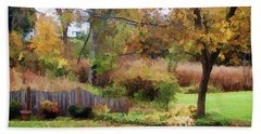 Hand Towel featuring the photograph Mellow Days by Betsy Zimmerli