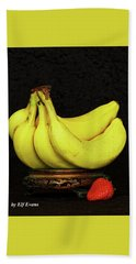 Bath Towel featuring the photograph Mellow Yellows And Red by Elf Evans