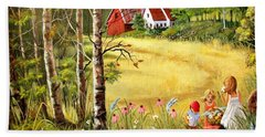 Memories For Mom Bath Towel by Marilyn Smith