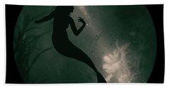 Mermaid Deep Underwater Hand Towel