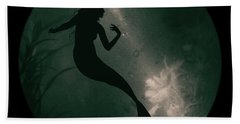 Mermaid Deep Underwater Bath Towel