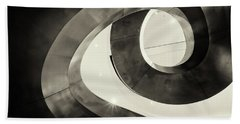 Abstract Metal Spiral Staircase Hand Towel