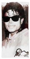 Michael Jackson Hand Towel