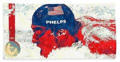 Michael Phelps Bath Towel