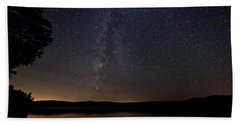 Milky Way Chocorua Lake Bath Towel