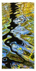 Mill Pond Reflection Hand Towel by Tom Cameron