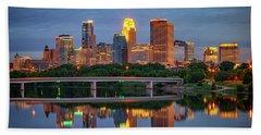 Minneapolis Twilight Hand Towel