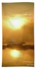 Misty Gold Hand Towel