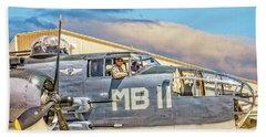 Marine Mitchell B-25 Pbj  Bath Towel