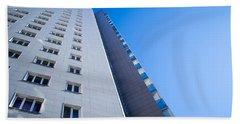 Modern Apartment Block Hand Towel by John Williams