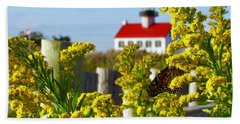 Monarch At East Point Light Hand Towel