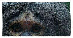 Monkey Face Bath Towel