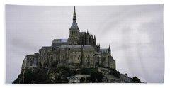 Mont St Michel Hand Towel