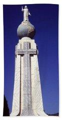 Monumento Al Divino Salvador Del Mundo Hand Towel
