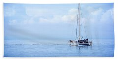 Morning Sail Bath Towel by James Hammond