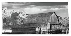 Bath Towel featuring the photograph Moulton Homestead - Barn by Colleen Coccia