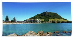 Mount Maunganui Beach 10 - Tauranga New Zealand Bath Towel