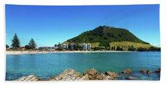 Mount Maunganui Beach 10 - Tauranga New Zealand Hand Towel