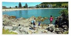 Mount Maunganui Beach 12 - Tauranga New Zealand Bath Towel