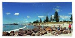 Mount Maunganui Beach 6 - Tauranga New Zealand Bath Towel