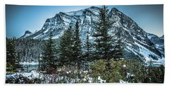 Mountains Hand Towel by Bill Howard