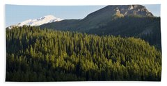 Mountainscape Hand Towel by Sumit Mehndiratta
