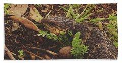 Hand Towel featuring the photograph Mr Bobtail by Cassandra Buckley