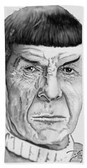 Mr Spock Hand Towel