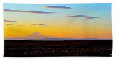 Mt. Adams Sunset Bath Towel