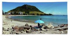 Mt Maunganui Beach 5 - Tauranga New Zealand Bath Towel