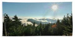 Mt Mitchell Landscape Hand Towel