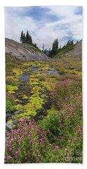 Mt Rainier National Park Hand Towel