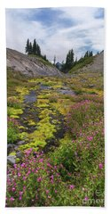 Mt Rainier National Park Bath Towel