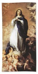 Murillo Immaculate Conception  Hand Towel by Bartolome Esteban Murillo