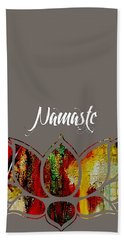 Namaste Hand Towel by Marvin Blaine