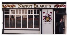 Nancy Blake's Irish Pub Bath Towel