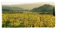 Napa Valley In Autumn Hand Towel